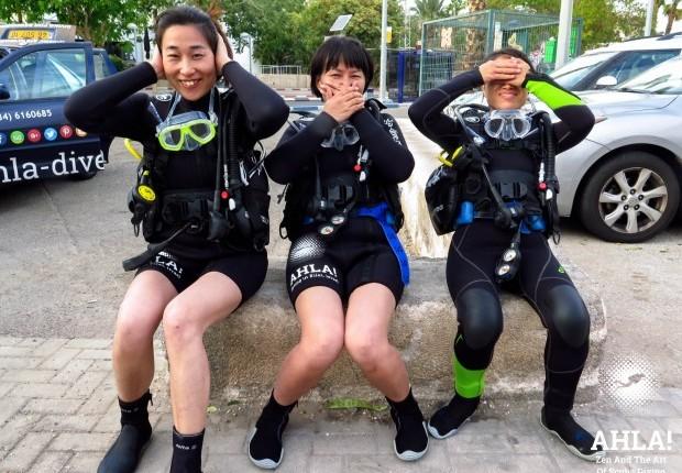 best scuba diving in israel