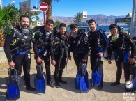 diving center in eilat chep open water course red sea