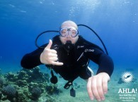 diving in red sea with instructor eilat