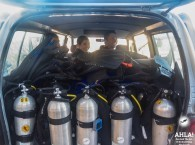 scuba diving equpment and diving in eilat red sea