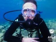 underwater photo scuba diving in eilat