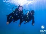 underwater photo in eilat