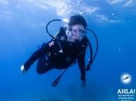 scuba diving with kids eilat