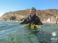 guided dive in eilat red sea