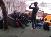 Станислав Быковский проводит брифинг на OW погружение
