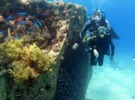 Металлоконструкции на Коралловом пляже Эйлата