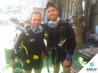 дайвинг напарники на курсе Open Water Diver