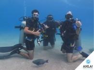группа Open Water Diver день третий
