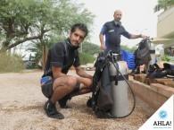 подгонка снаряжения до погружения на курсе Open Water Diver