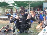 дайвинг пробное погружение Эйлат_diving intoductory dive Eilat
