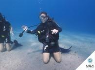 урок дайвинга в АХЛА_diving lesson in AHLA
