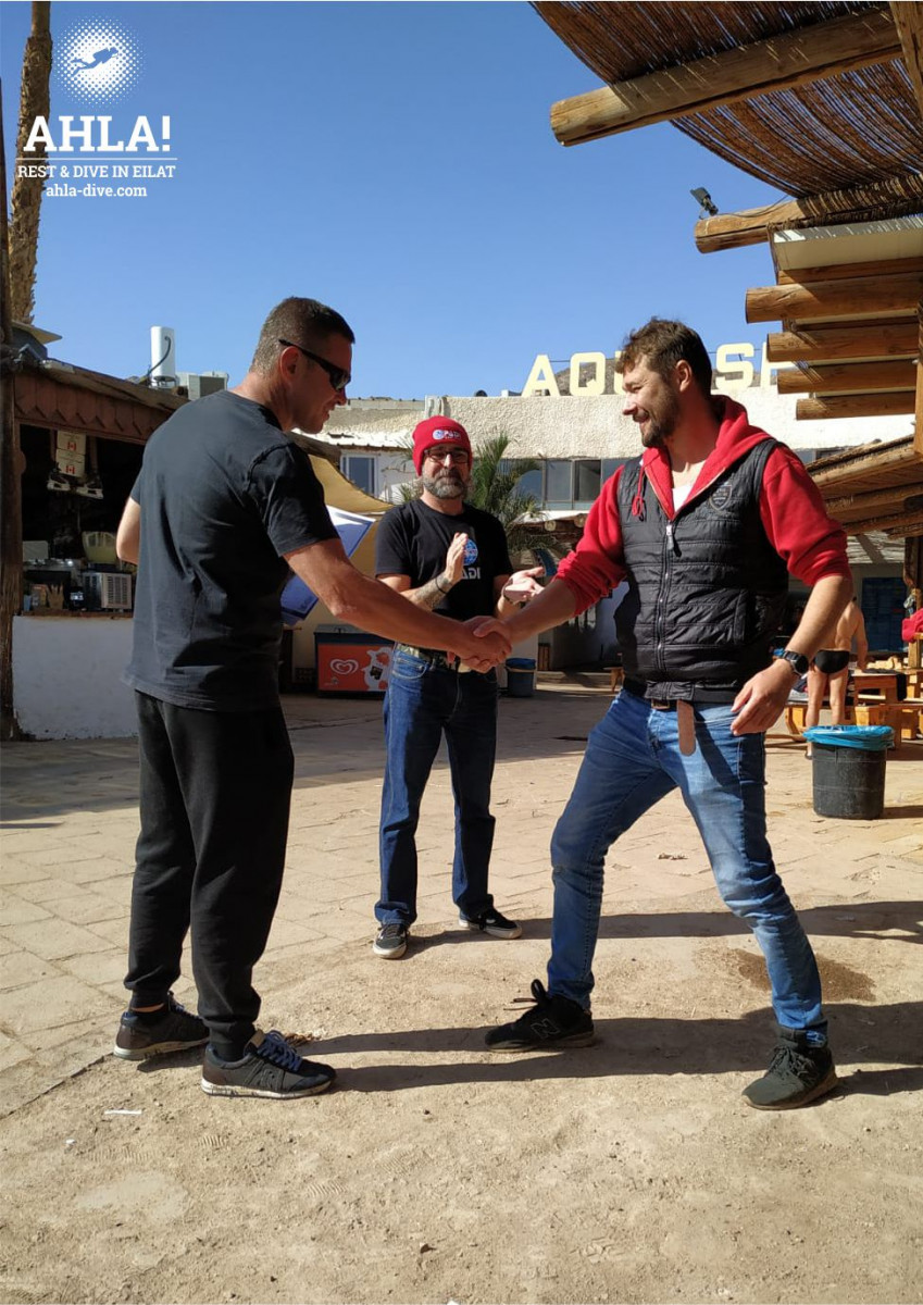 scuba diving PADI Assistant Instructor Course in Eilat