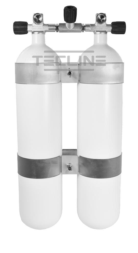 דאבל פלדה 7 ליטר 300 אט' כולל מניפולד וחבקי מיכל