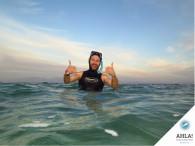 Snorkeling on Coral reef