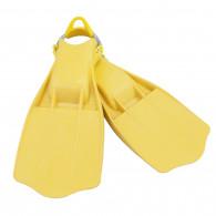 סנפיר גומי Jetstream צהוב עם רצועת קפיץ