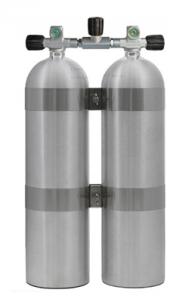 סט שני מיכלים ל- SideMount אלומיניום 11.1 ליטר/ S80