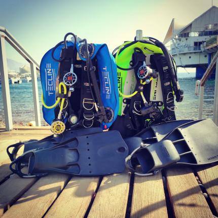 rent scuba diving equipment in Eilat