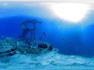 dive site in eilat - satil wreck