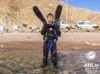 diving for beginners in eilat red sea israel