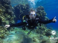 scuba diving for the first time in eilat red sea