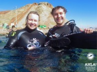 scuba diving with family in eilat red sea israel