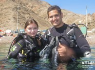 scuba diving holidays in israel